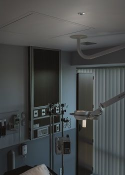 Axis thermal camera in a health-care setting