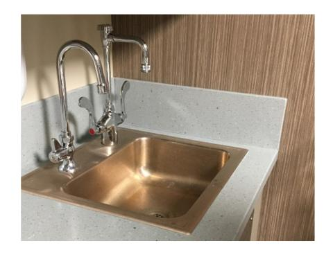 Cuverro copper sink