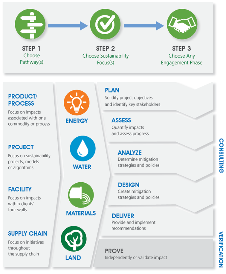NSF infographic for environmental services