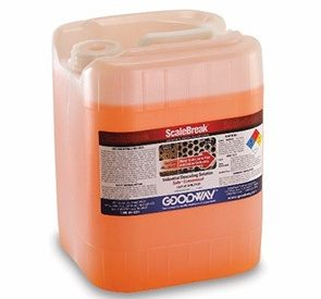 Container of ScaleBreak descaler