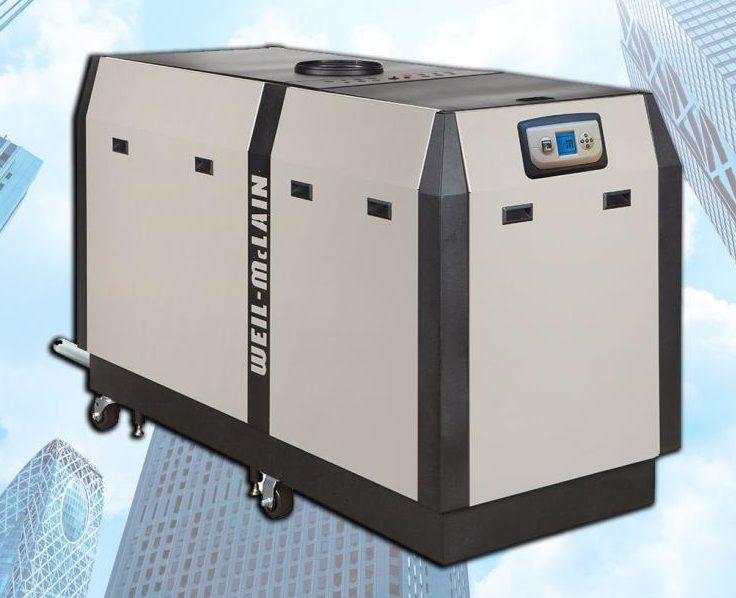 Black and hwite SlimFit condensing boilers