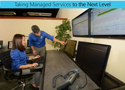 Figure 2: ClearTech Award-Winning Managed Services Department