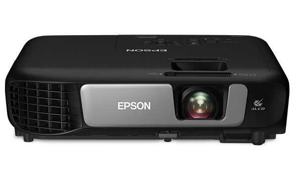 Black rectangular projector