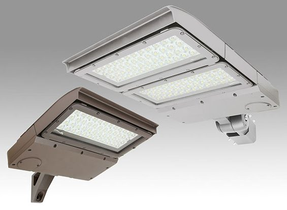 Two Area Light luminaires