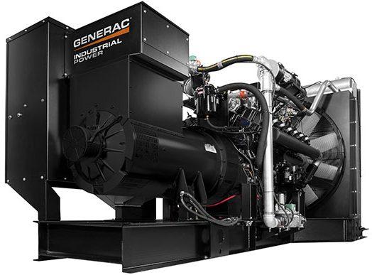 Large black power generator