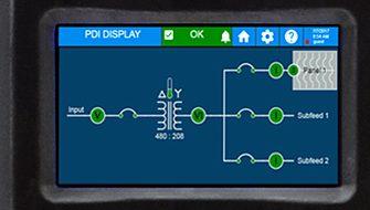Energy monitoring screenshot