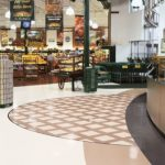 Armstrong VCT flooring in grocery store