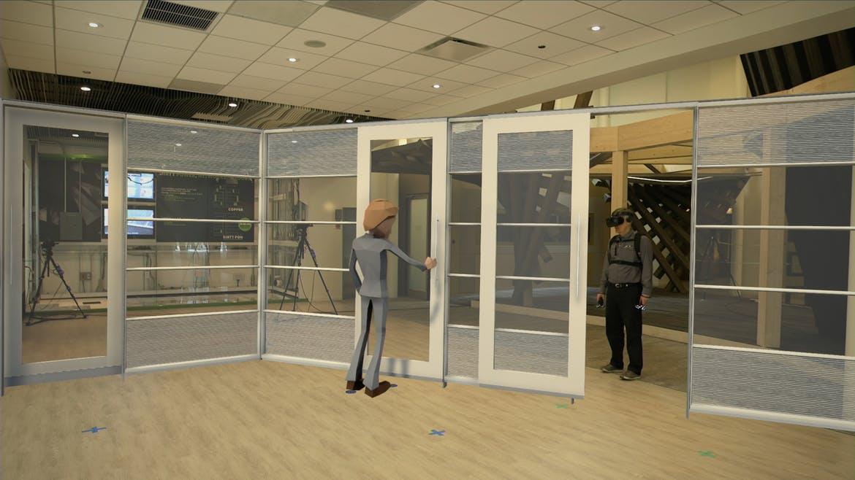 Virtual reality visualization