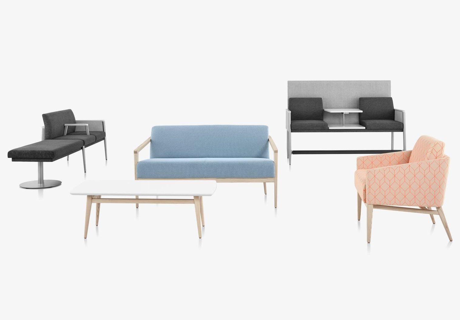 Public space healthcare furniture