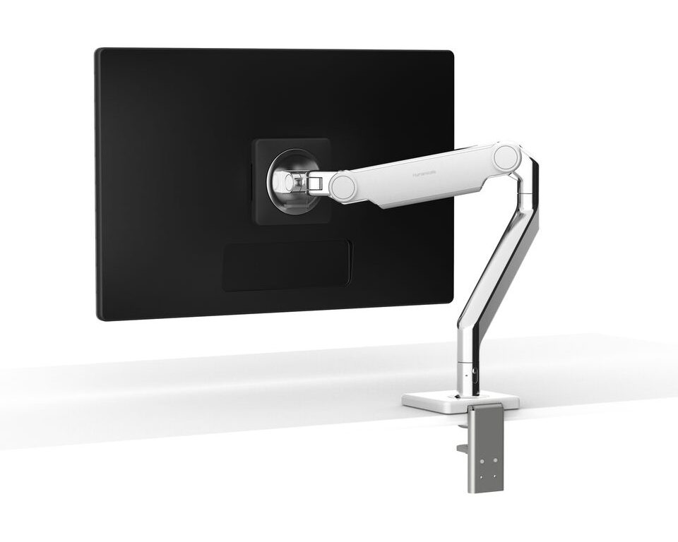 Flexible computer monitor arm