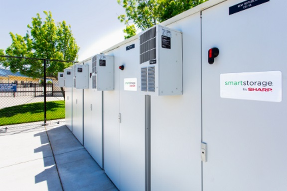 large outdoor energy storage systems