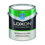 Can of self-cleaning exterior paint