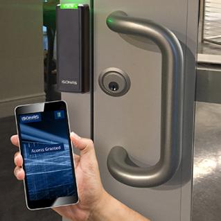 Door lock with control app on phone
