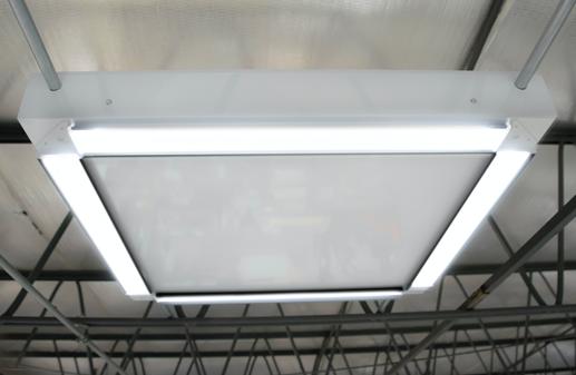 Rectangular ceiling LED