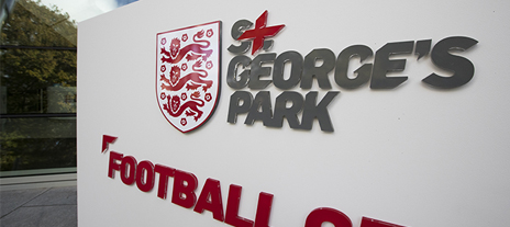 St. George's Park sign
