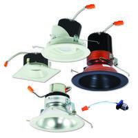 Housings for 4 LED downlights
