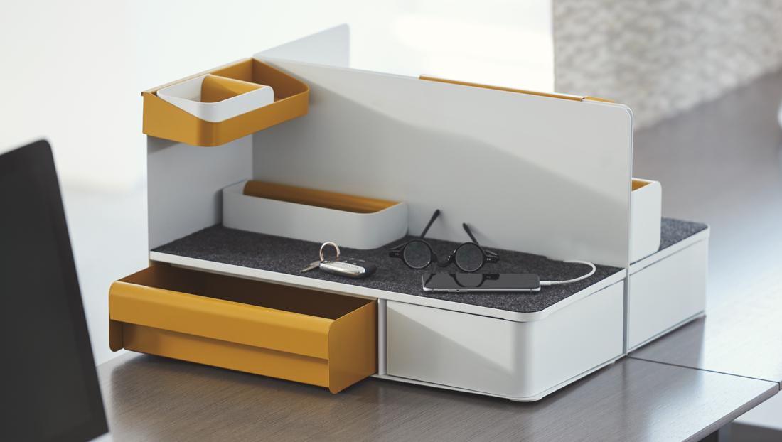 Desktop personal storage and organization accessories