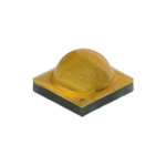 Round-on-square yellow LED component