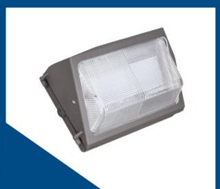 LED wall pack exterior lighting