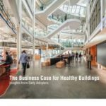 Book cover with a high-ceilinged healthy building
