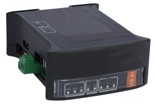 Grey box: data logger