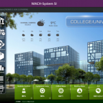 Screenshot of building management software
