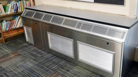 Stainless-steel unit ventilator