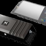 2 rectangular box devices