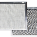Back and front of 4-PRO dehumidifier filter