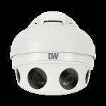 DW MEGApix PANO 21-megapixel multi-sensor vandal-resistant IP security camera