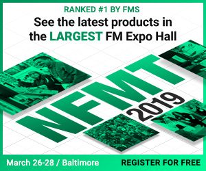 NFMT FM Expo Hall -- March 26-28, Baltimore