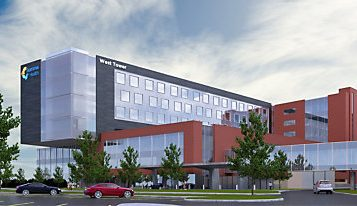 New patient tower to be powered by Cat diesel generator sets