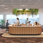 CBRE's Hana coworking space at PwC Tower