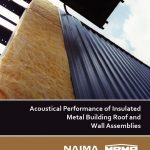 MBMA/NAIMA metal building acoustical performance guide cover