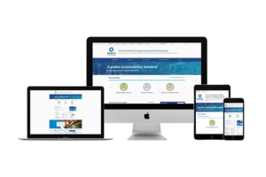 Preview of STARS campus sustainability website on various devices