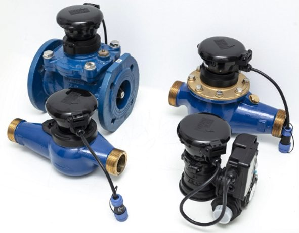 WINT leak detection device connected to pipes