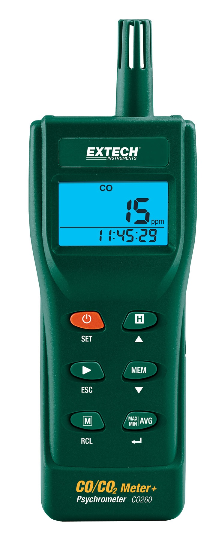 CO260 Datalogging IAQ meter from Extech/FLIR