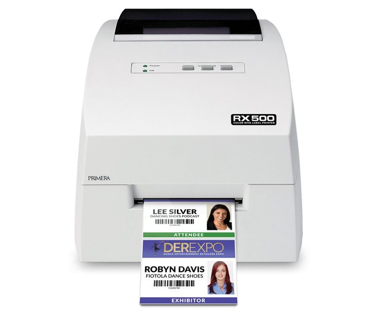 Primera RFID Label and Tag Printer for access badges, folder labels and more
