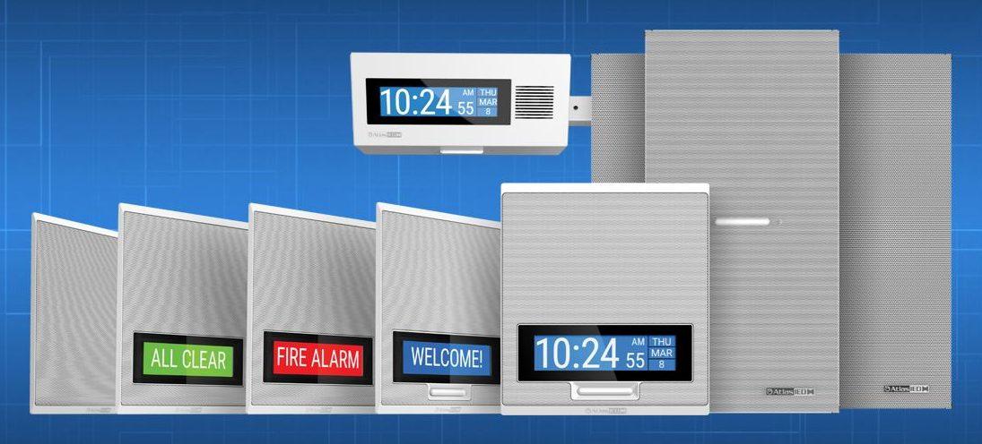 AtlasIED IPX Series IP Endpoints speakers and displays