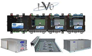 Carrier TruVu HVAC control equipment