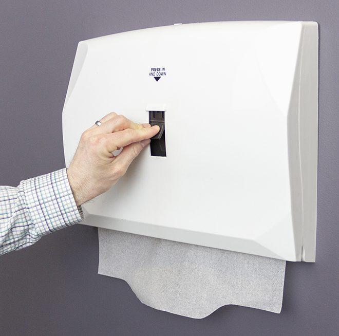Terrific Hospeco Toilet Seat Cover Dispenser Is Easy To Mount Maintain Dailytribune Chair Design For Home Dailytribuneorg