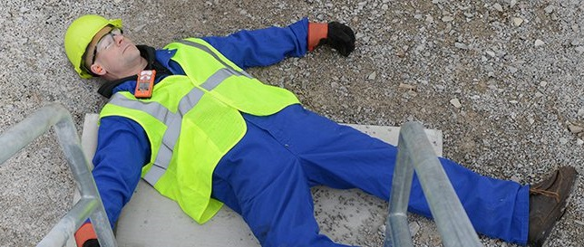 """""""Man-down"""" lone worker on the ground"""