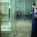Cobalt Robotics upright mobile security robot