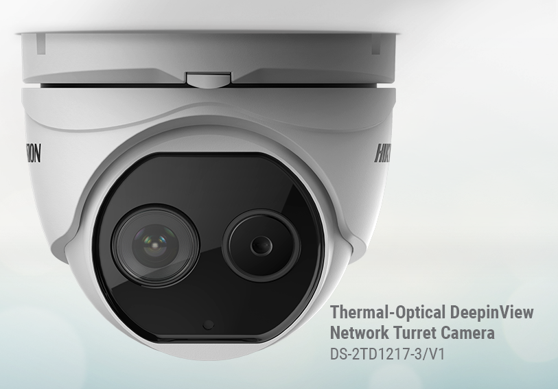 Hikvision DeepinView turret security camera