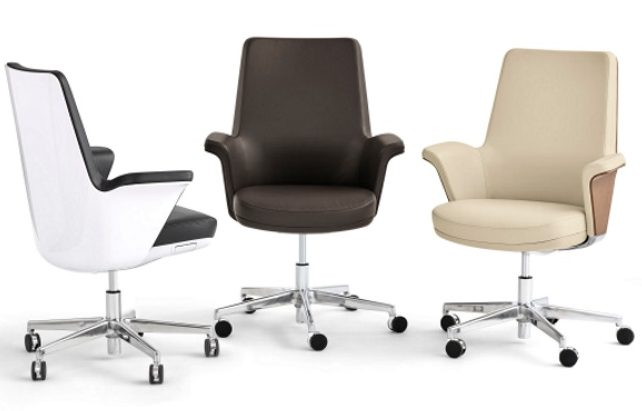 Group of 3 Humanscale Summa executive chair options