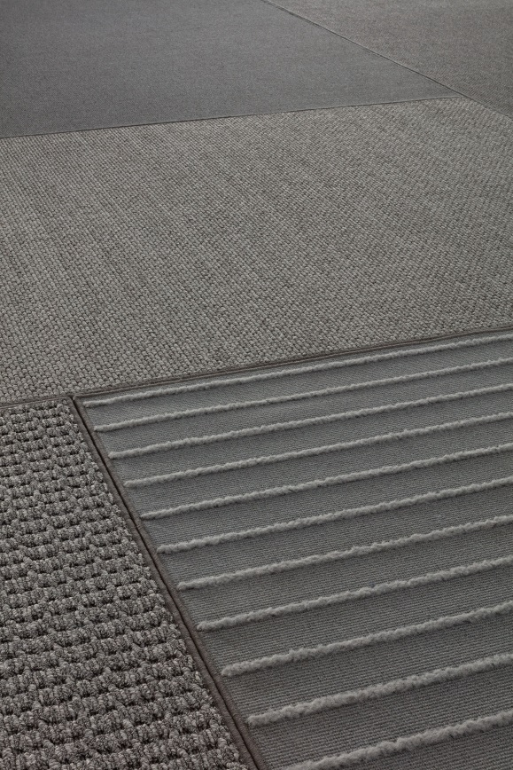 Tarkett Tatami CoolGrey floorcovering closeup