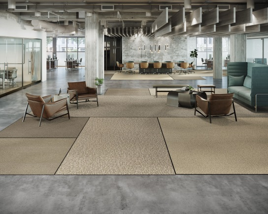 Tarkett Tatami System floorcovering application