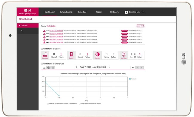 Lg Intros Cost Effective Smart Lighting Control System