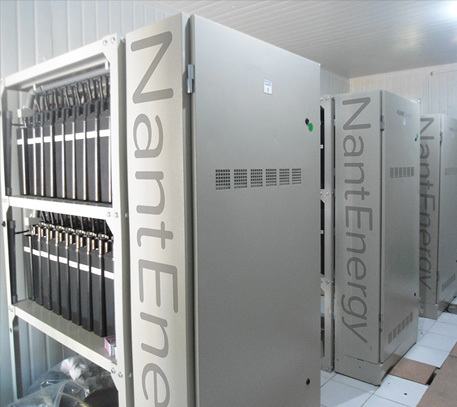NantEnergy zinc-air SmartStorage energy storage systems
