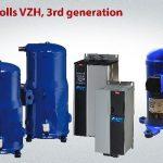 Danfoss 3rd-generation VZH variable-speed scroll compressor range